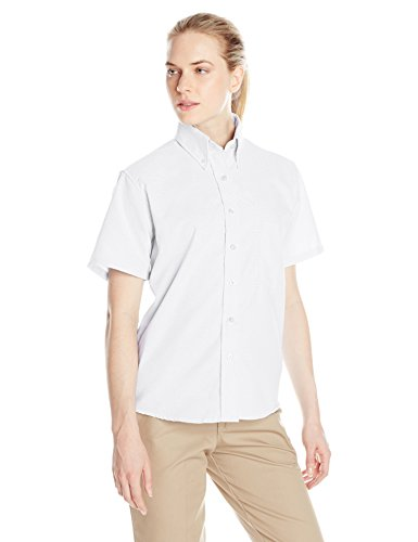Red Kap Ladies Short - Red Kap Women's Executive Oxford Shirt, White, 10