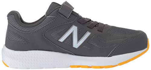 New Balance Boys' 519v1 Hook and Loop Running Shoe, Magnet/Phantom, 2 M US Infant by New Balance (Image #7)