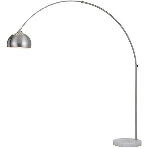 AF Lighting 9120-FL Brushed Nickel Orb Floor Lamp with Metal ()