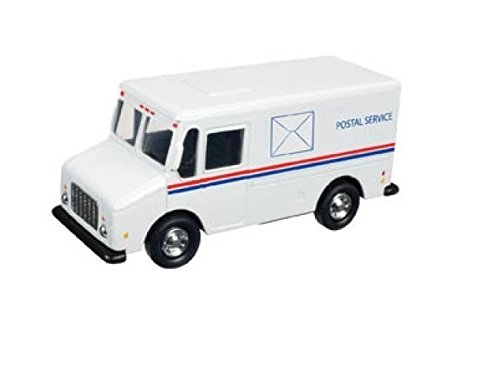 Postal Service Truck (USPS United States Postal Service White Delivery Truck 1/43 Scale Mail Truck)