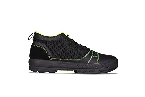 Kujo Yardwear Lightweight Breathable Yard Work Shoe Black/Green 9.5 Men / 11 Women (Patios Small Landscape Ideas For)