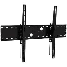 """Black Adjustable Tilt/Tilting Wall Mount Bracket for Samsung 3D Compatiable PN64D7000 64"""" inch Plasma HDTV TV/Television"""