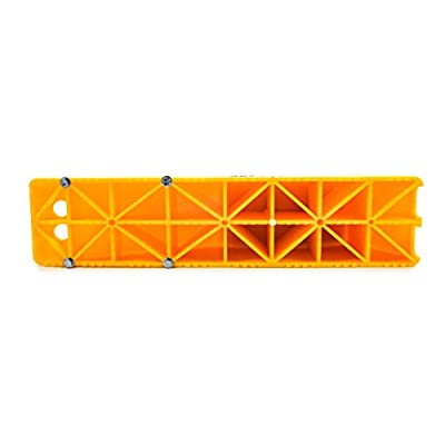 Trailer Aid Plus Tandem Ramp-The Fast and Easy Way to Change a Trailer's Flat Tire-Holds up to 15,000 lbs-Features a 5.5-Inch Lift-Yellow (21002): Automotive