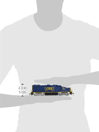 Bachmann Industries EMD GP38 2 DCC CSX #2640 Sound Value Equipped Locomotive (HO Scale) by Bachmann Trains (Image #1)