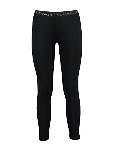 - Icebreaker Women's Vertex Leggings, Black, Medium