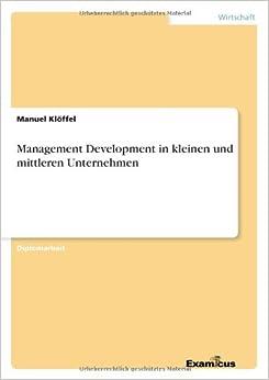 Management Development in kleinen und mittleren Unternehmen