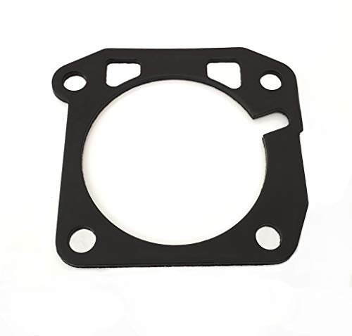 K-Motor Performance Thermal Intake Manifold Throttle Body Gasket 70MM - Compatible with Honda Civic B16 Integra B18C1 GSR F22A H22A