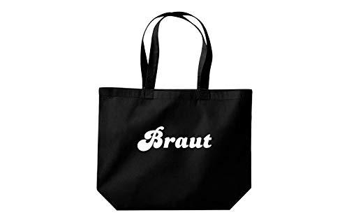 Shopper Cabas Jga Shirtstown Noir Mariée Grand 71AWFEqwgx