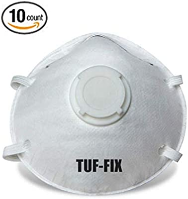 Tuffix Mask Valved Dust N95 Disposable Respirator Particulate With