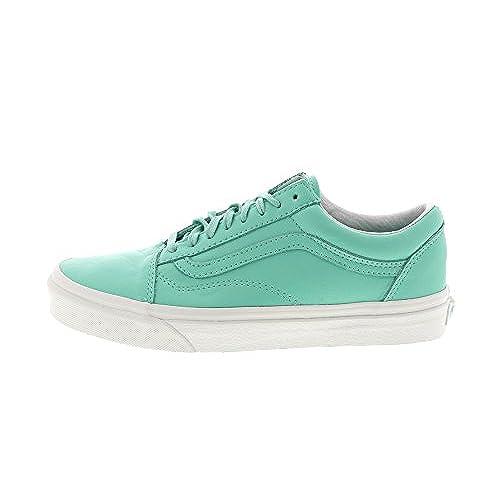 5e6295ae0d durable service Vans Old Skool Pastel Pack Ice Green Blanc de Blanc Skate  Shoes (