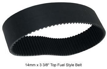 Drive belt primary 14mm 85t bt 90/l w/30t & 46t pulleys 3-3/8''wide bdl 14-85-by-Belt Drives Ltd. by Belt Drives