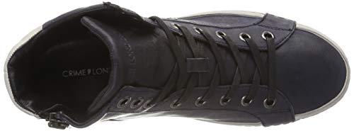 Collo 040 London Sneaker Uomo Blu A Crime Alto 11121aa1 40 blue qfXwnPvA