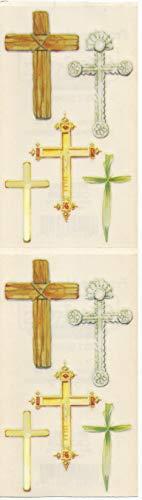 Frances Meyer Religous Crosses Stickers