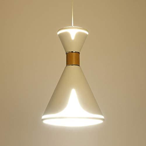 Ganeep Modern Minimalist LED Pendant Lights Creative Personality Single Head Chandelier Restaurant Bedroom Kitchen Decoration Hanging Lights ()