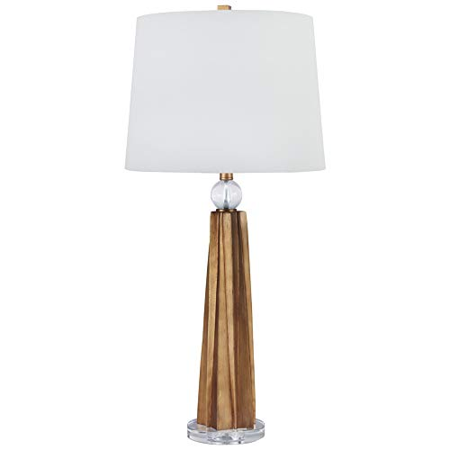 Signature Design by Ashley L235024 Engla Poly Table Lamp (2/CN) Antique Gold ()