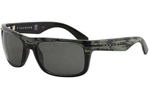 Kaenon Adult Burnet Sunglasses, Deep Ocean/Grey 12-Polarized, One Size