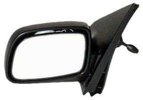 OE Replacement Toyota Echo Driver Side Mirror Outside Rear View (Partslink Number TO1320197)