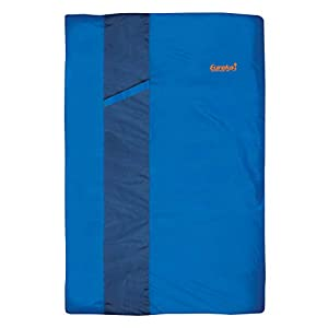 Eureka! Sandstone 30-Degree, 3-Season Rectangular Sleeping Bag, Double Size, Blue (7 Pounds 15 Ounces)