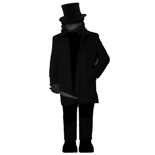 WGH19922 Jack the Ripper Vinyl Wall Decal Graphic
