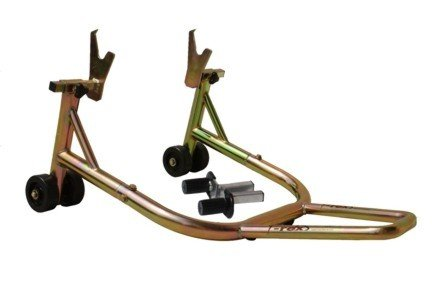 T-Rex Racing Universal Rear Non-spooled V Motorcycle Stand - Gold - Non Spool Rear Stand