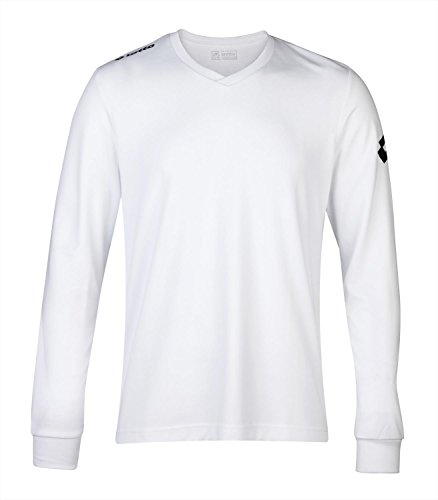 Lotto Jersey Long Sleeve Team Evo - White - XL