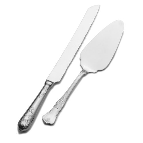 Wallace Hotel Pie Server and Cake Knife Set -