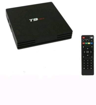 Smart TV Box T9 Pro Android 8.1 4GB RAM 32GB 4K TV GPU 5 Core Quad Wifi