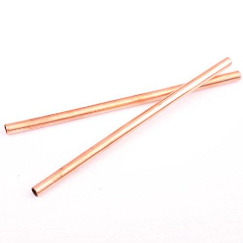 Copper mini straws 5.5 set of 2
