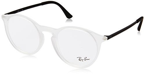 Ray-Ban Men's 50 mm 0RX7132 Rubber Trasparent One Size (Rayban Goggle)