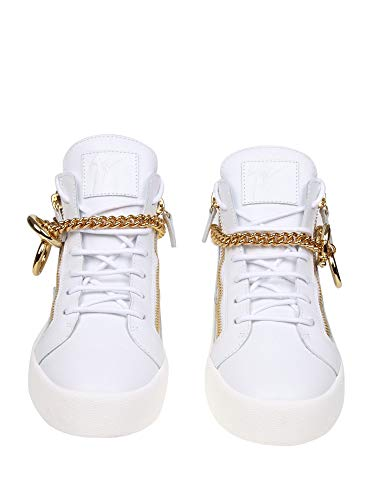 Design Rm90028002 Zanotti in Men Sneakers bianca pelle Giuseppe 64fwxw