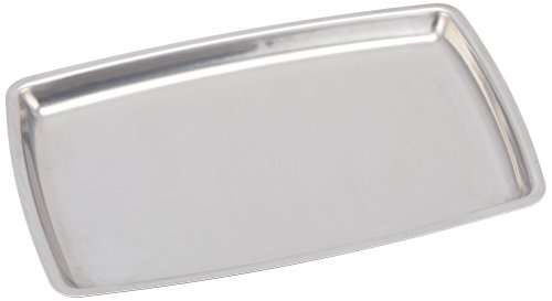 Steel Platter Sizzling Stainless (Winco SIZ-11B Stainless Steel Rectangular Sizzling Platter, 11-Inch)