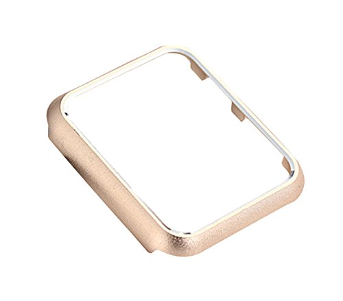 Shock-Proof Champagne Metal Watch Bumper Protector Aluminum for 42mm Apple Watch Iwatch Series 1/2/3