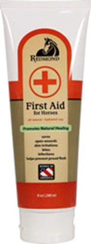 Redmond First Aid All Natural Hydrated Clay for Horses 8 Ounce Tube