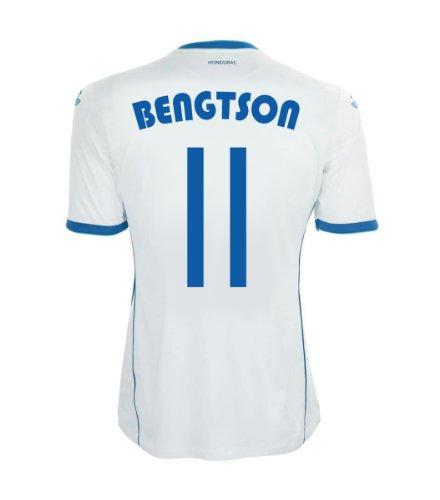 妖精編集者話をするJoma Bengtson #11 Honduras Home Jersey World Cup 2014/サッカーユニフォーム ホンジュラス代表 ホーム用 背番号11 ベンクトソン