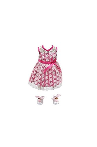 Clothes Rose Dress Toy Pink inch with 18 Shoes Girl Dress Lace Zhihan Dance Doll xF7pqPn