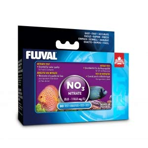 Hagen Fluval Nitrate Test Kit for Fresh & Saltwater (Includes 80 Tests) by Hagen