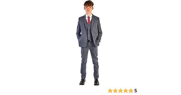 Romario Traje de boda para niños, traje de boda para niños, traje Pageboy, 6/9 ma 14 años
