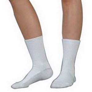 - Silver Sole Support Sock, 12-16 mmhg, Xlarge,White
