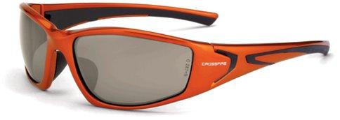 12 Pack Crossfire 23125 RPG Safety Glasses HD Dimi-Copper Flash Mirror Lens- Burnt Orange Frame