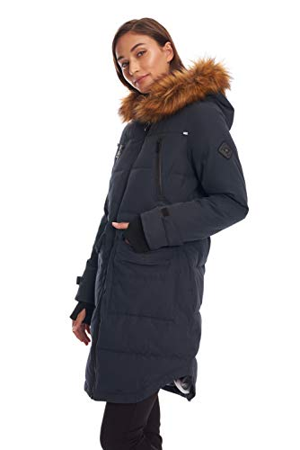 Parka Coulisse Womens Alpino Giù Nord Marina Vegan Alternativa Giacca Inverno xxqCS0H