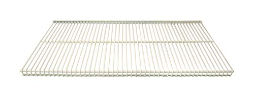 Organized Living freedomRail Ventilated Shelf, 48-inch x 16-inch - White