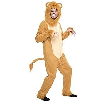 Disfraz de León para hombre: Amazon.es: Juguetes y juegos