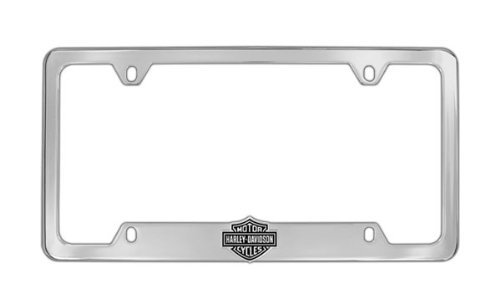 Harley-Davidson 3D Bottom Bar & Shield License Plate Frame Holder ()