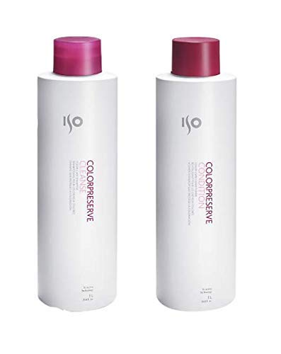 ISO Color Preserve Cleanse 33.8 Oz. Shampoo + 33.8 Oz. Conditioner