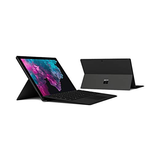Microsoft Surface Pro 6, 2-in-1 Laptop, Intel Core-i7-8650U, 12.3 Inch, 512GB SSD, 16GB RAM, Intel UHD Graphics 620, Windows 10 Pro, No Keyboard, Black [Intl. Version]