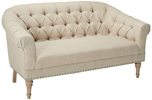 Coaster 902498-CO Tufted Loveseat, In Oatmeal