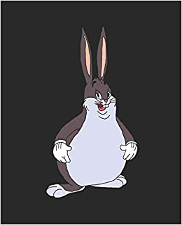 Big Chungus 120 Page Wide Ruled Composition Notebook Journal