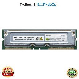 Rimm Computer (33L3254 512MB IBM Compatible Memory IntelliStation M Pro/NetVista PC800-45 ECC RDRAM RIMM 100% Compatible memory by NETCNA USA)