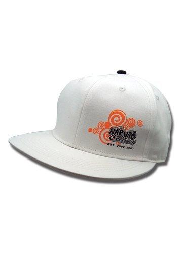 Cap Logo Hobbies - Great Eastern Entertainment Naruto Shippuden Logo Flatbill Hat