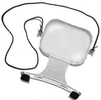 Bausch & Lomb Sight Savers Hands-Free 2X Magnifier Bausch And Lomb Magnifying Glass